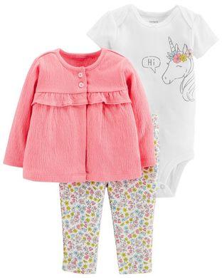 Carters Комплект для малышки розовый ec82bca769393